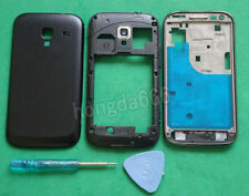 Housing Middle Frame +Front +Battery Cover For Samsung Galaxy Ace 2 i8160 black