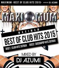 DJ Azumi - Maximum-Best of Club Hits 2015 [New CD]