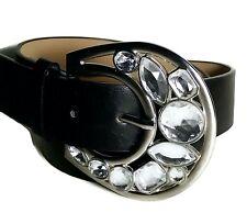 NWT $42 NEW ABS ALLEN SCHWARTZ Black Jewel Belt M