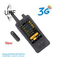 IP67 3G Network Radio W5 Android 6.0 Phone PTT Radio UHF radio Zello Real-ptt