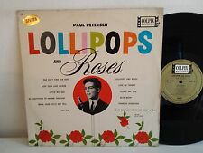 PAUL PETERSEN Lollipops and roses COLPIX RECORDS CP 429 MONO COLOMBIE