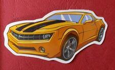 "Sticker Decal "" Yellow Car "" Gloss-Optics Stickerbomb Skateboard Laptop"
