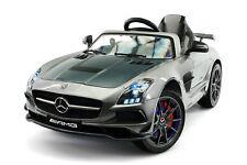 Mercedes SLS AMG Final Edition 12V Kids Ride-On Car with Parental Remote | Gray