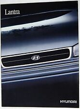 Hyundai Lantra 1.6 GL GLS Sedan 1991 24-page Colour Sales Brochure VGC