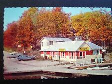 Seven Falls Ontario Riverbend Snack Bar Postcard 1950s
