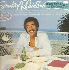 SMOKEY ROBINSON - Blame It On Love & All The Great Hits - 1983 Motown Vinyl, LP