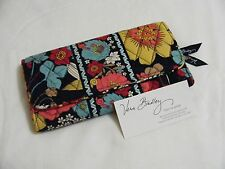 Vera Bradley HAPPY SNAILS Gallery WALLET CLUTCH for Handbag TOTE Backpack  NWOT