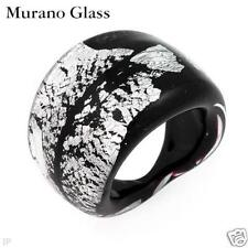 MURANO GLASS Made in Italy Fashionable Ring.
