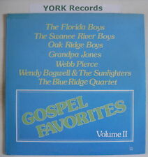 GOSPEL FAVORITES VOL II - Various - Ex Con LP Record