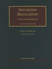 Securities Regulation: Cases and Materials (University Casebooks) by