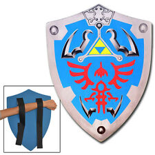 Link Triforce Zelda Foam Costume Pretend Play Shield Video Game Cosplay LARP