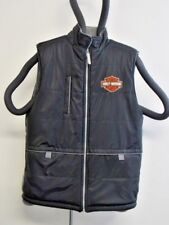 Harley Davidson Ladies XLarge/18 Bold Reversible Vest - Beautiful Condition
