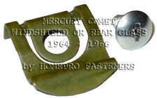 FITS MERCURY COMET 64 65 66 WINDSHIELD REAR GLASS REVEAL MLDG CLIPS  20