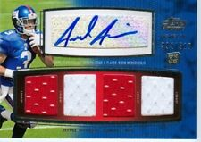 2011 Topps Prime VI Jerrel Jernigan Rookie Auto Quad Game Patch #'d /515  Giants