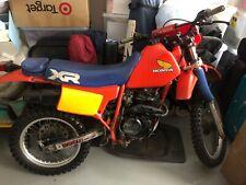 Honda xr200r 1984