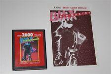 BMX AIR MASTER Atari 2600 RED LABEL con istruzioni Very rare airmaster vintage