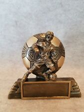 Male Soccer / Futsal Resin Trophy - with a free personalized plaque