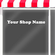 CUSTOM SHOP NAME VINYL LETTERING DECAL / SHOP WINDOW DECAL / vinyl letters