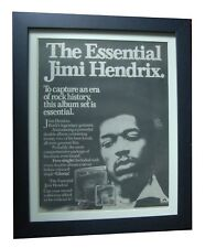 JIMI HENDRIX+Watchtower+Purple+POSTER+AD+RARE+ORIG 1978+FRAMED+FAST GLOBAL SHIP
