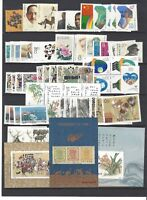 CHINA 1988-1 Whole Year of Dragon FULL stamps + S/S set