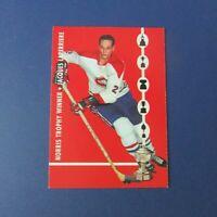 JACQUES LAPERRIERE  Parkhurst 1965-66 Norris trophy PROTOTYPE Montreal Canadiens