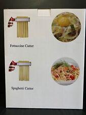 Pasta Cutter Attachment 2 Set for KitchenAid Stand Mixer Includes Fettuccine