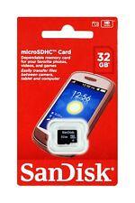 SanDisk Micro Sd 32GB Clase 4 SDHC Tarjeta de Memoria - Mejora Su Teléfono Móvil