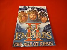 Age of Empires 2 II The Age of Kings Computer PC Instruction Manual Booklet ONLY