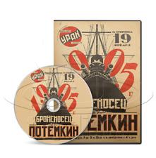 Battleship Potemkin (Bronenosets) (1925) Silent Russian History Movie/Film (DVD)