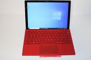 Microsoft Surface Pro 4 256GB SSD i7 6650U 8GB Win 10 Pro With Keyboard 54 cycle