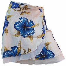 Hippy Gypsy Summer Festival Floral Flower Print Layered Short Wrap Around Skirt