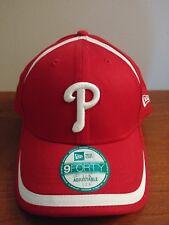 Philadelphia Phillies New Era Men's League 9Forty Adjustable Baseball Hat Red