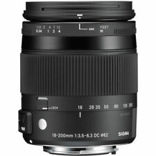 Sigma Kamera Objektive für Canon