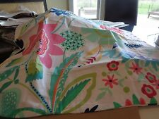 2 Pottery Barn Teen Fantastic floral  standard shams   New