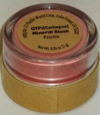 Otpi G.G. Cutiepie Mineral Blush In Twist Shut Container Peachie Sealed