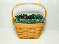 LONGABERGER 1997 Horizon of Hope Basket Combo Emerald Vine Liner Protector