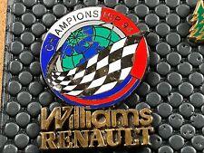 PINS PIN BADGE CAR F1 FORMULE 1 WILLIAMS RENAULT 99EX