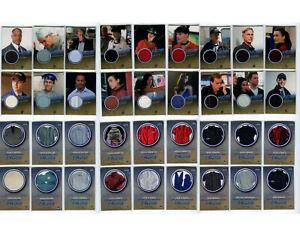 NCIS Rittenhouse 2012 Costume Cards X 18 Inc Pauley Perrette Mark Harmon