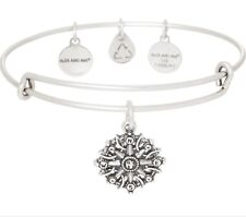 NWT Alex and Ani Compass III Silver Bracelet