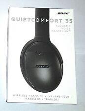 BOSE QuietComfort QC35 Noise Cancelling Headphones Wireless Bluetooth Warranty