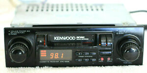 Kenwood KRC-1005 Old School Shaft Style Classic 2 Knob AM FM Cassette Car Stereo