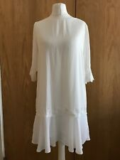 Ladies Elise Ryan Ivory Summer Dress Size 8