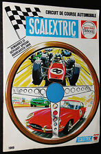 RARE CATALOGUE 1969 SCALEXTRIC MECCANO TRIANG CIRCUIT COURSE AUTOMOBILE