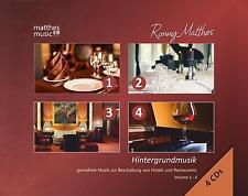 Hintergrundmusik, Vol. 1 - 4 [Gemafreie Musik zur Beschallung von Hotels] 4 CDs