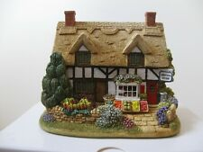 """Lilliput Lane Cottages """"Gibson's Store"""" L3181 Mint in original box with deed."""