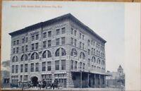 Arkansas City, KS 1908 Postcard: Rannety's Fifth Avenue Hotel - Kansas Kans
