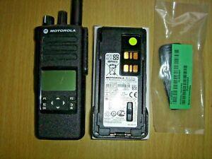 Motorola DP4600 UHF 403-527MHz DMR with UNUSED IMPRES LiIon battery #1