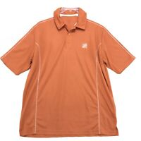 Home Depot Polo Shirt Mens Size XL Orange Short Sleeve