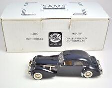 SAMS 1937 Cord Beverley Sedan Hand Crafted 48/150 Limited Ed. Model Blue 1:43