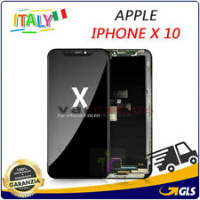 LCD DISPLAY TOUCH SCREEN PER APPLE IPHONE X 10 VETRO FRAME OLED SCHERMO RICAMBIO
